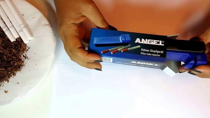 Prezentare Injector Angel pentru umplut tuburi tigari  Comenzi la tel.: 0744545936 sau pe www.tuburipentrutigari.ro