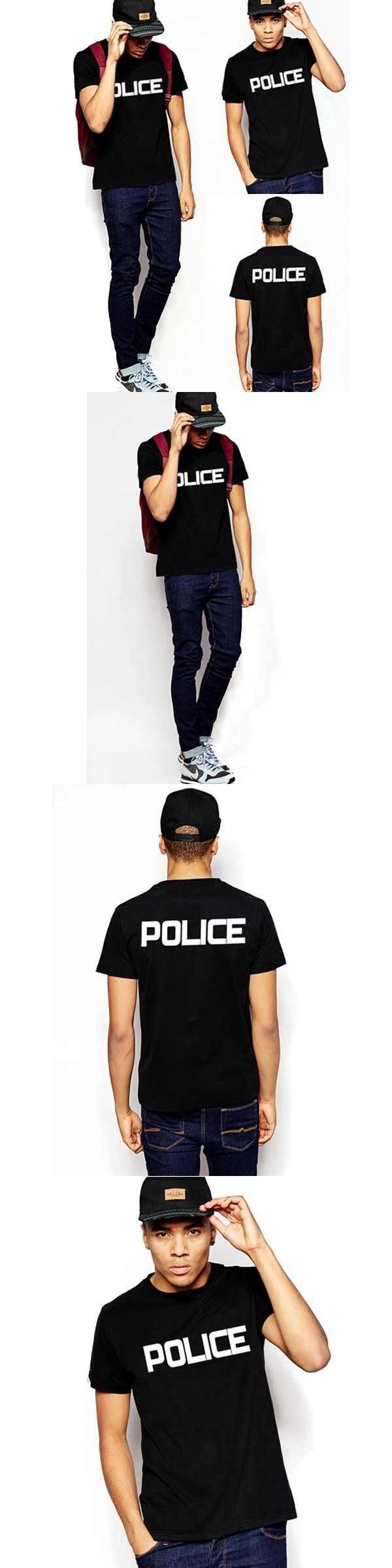 IM SECURITY POLICE SHERIFF SWAT Graphic T-Shirts PYERX JAY-Z T Shirt  ASAP Rocky  kanye west  100%cotton