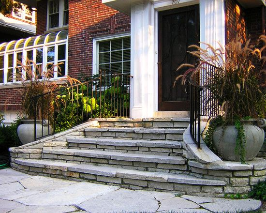 34 best Front Steps images on Pinterest | Driveways, Banisters and ...