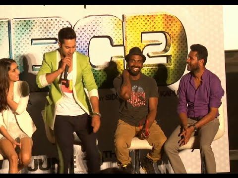 When Varun Dhawan met Prabhu Deva for the first time | FUNNY INCIDENT | ABCD 2. See the video at : http://youtu.be/qeUGsWh4zcI #abcd2 #varundhawan #prabhudeva