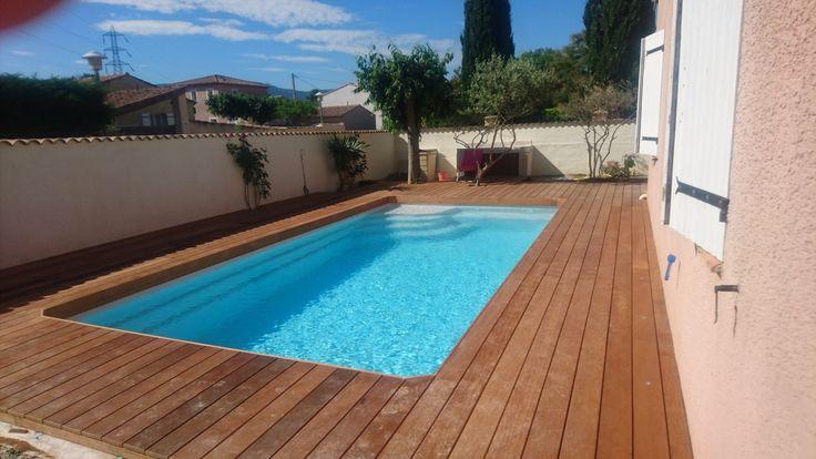 Les 25 meilleures id es concernant plot beton sur - Revetement tour de piscine ...