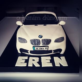 #Bmw #bmw #car #cake #araba #pasta #denizlipasta #obenimdunyam #pastagonder #sugarart #fondant