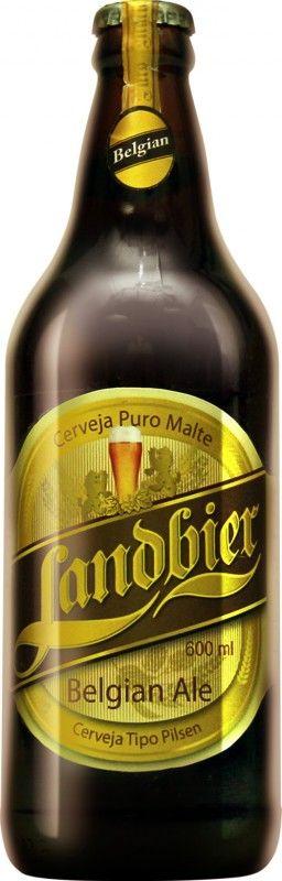 Cerveja Landbier Belgian Ale, estilo Belgian Pale Ale, produzida por Cervejaria…