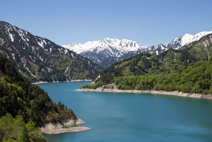 Kurobe Lake, Japanese Alps