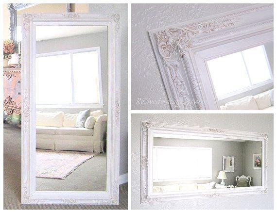 The 25 best country full length mirrors ideas on for White framed floor length mirror