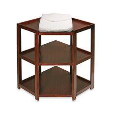 Badger Basket Corner Unit Changing Table - Cherry - Bed Bath & Beyond