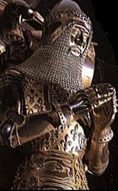 Tomb effigy of the Black Prince Edward of Woodstock, Prince of Wales. Canterbury Cathedral