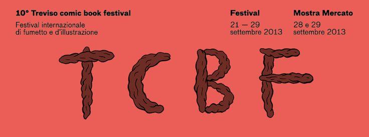 tcbf Banner 17 #comics #treviso #italy #tcbf13 Treviso Comic #Book #Festival #johnnyryan #lettering