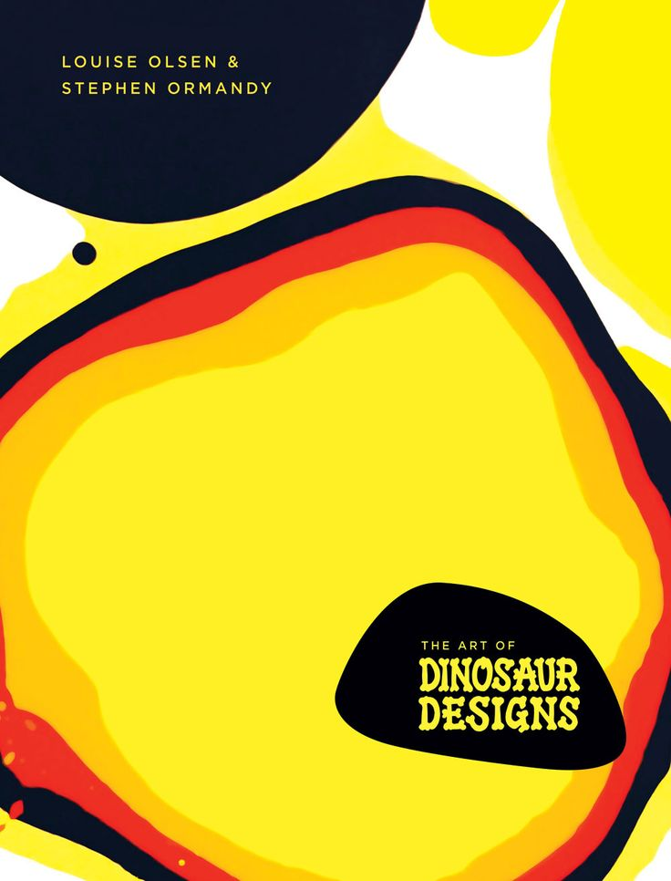 The Art of Dinosaur Designs Book Cover
