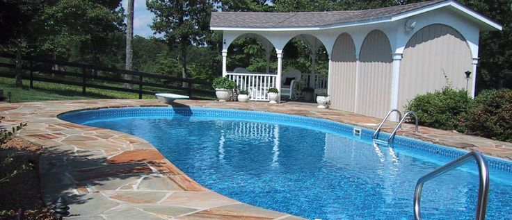 Swimming Pool Stage : Best vinyl swimming pools images on pinterest