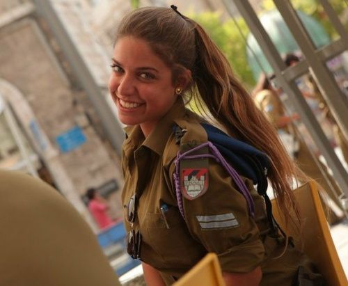 All Israeli girls are expected to serve 2 years, and so we have a military jam packed with fine looking women. Description from mizozo.com. I searched for this on bing.com/images