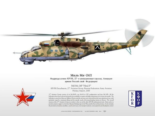 100%™ Mil Mi-24P | Russian helicopters. KFOR