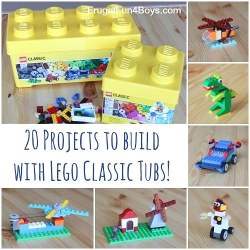 20 Simple Lego Project Ideas for Kids