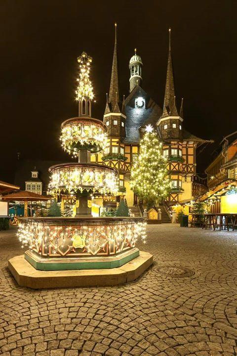 Weihnachtsmarkt Morgen.Weihnachtsmarkt Wernigerode Guten Morgen Heute Morgen Ging Es Zum