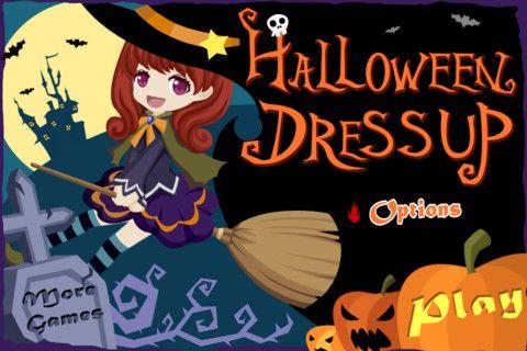 Halloween Dress Up ! iPhone Screenshot 2 found on AnyKey.Com