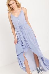 wv elsie high low maxi dress
