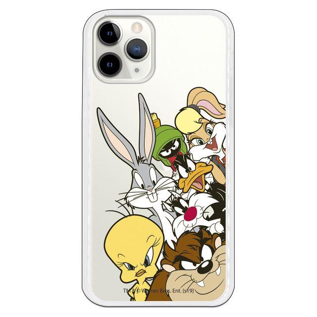 Funda transparente de dibujos animados Bugs Bunny para iPhone 11