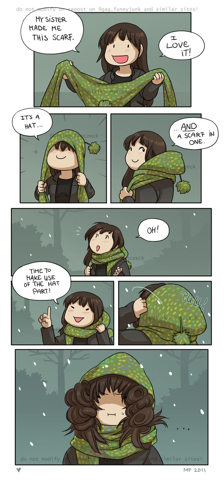 Favourite Scarf by Zombiesmile on DeviantArt