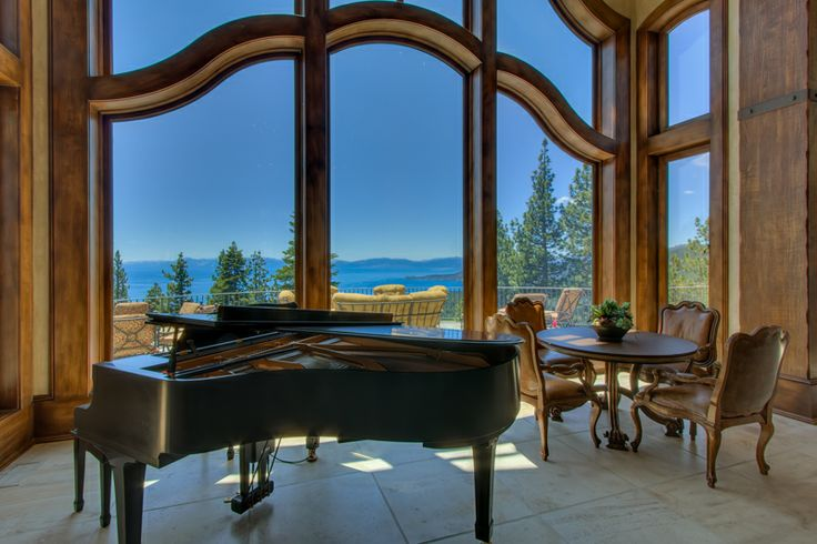 Get serenaded | The Champagne Estate | Tahoe Luxury Properties