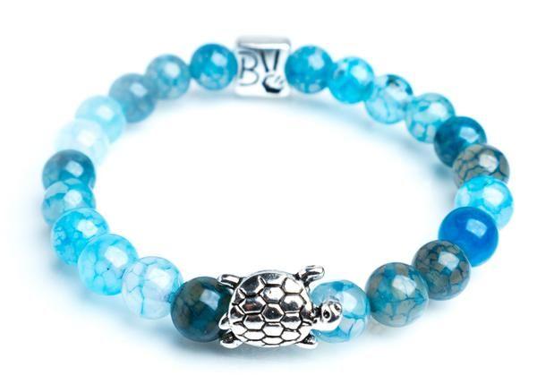 Charm Bracelet - Blue Pearl Blue sky by VIDA VIDA 3hinKkHQS