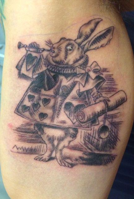 Tattoo - Rabbit- うさぎ