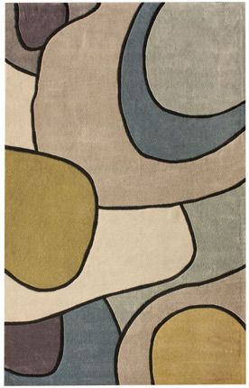 Rugs USA Keno Swoop Multi Rug. #home decor