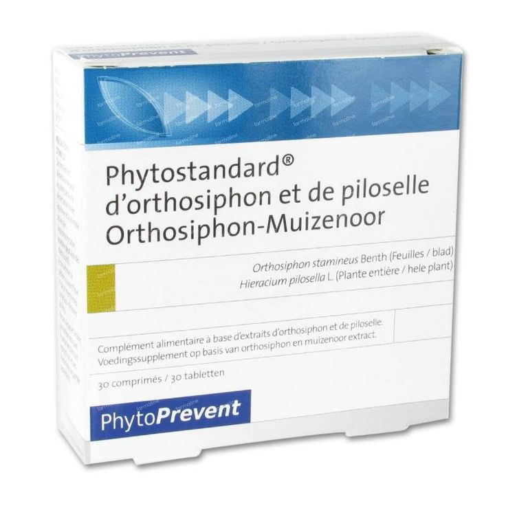 Phytostandard Orthosiphon - Piloselle 30  comprimés