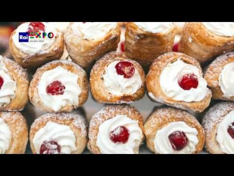 Sicilian Pastries, a Treat for the Palate and for the Eyes - YouTube