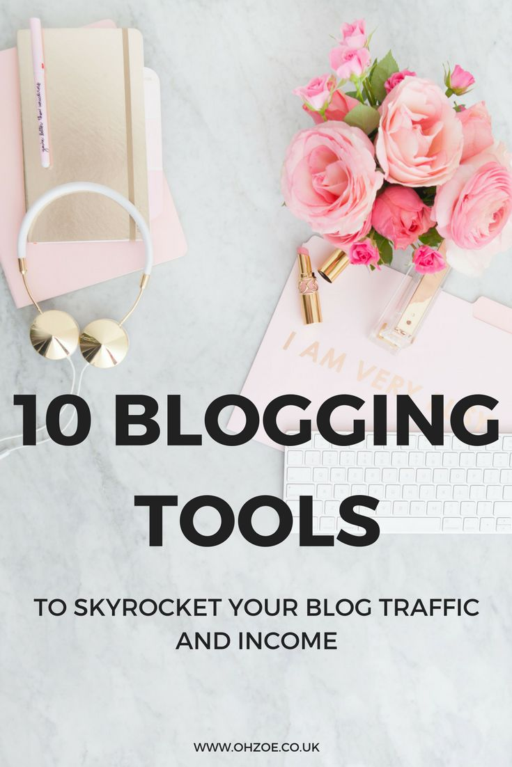 10 blogging tools to skyrocket your blog traffic and income #blogging #bloggingtips #bloggingtools