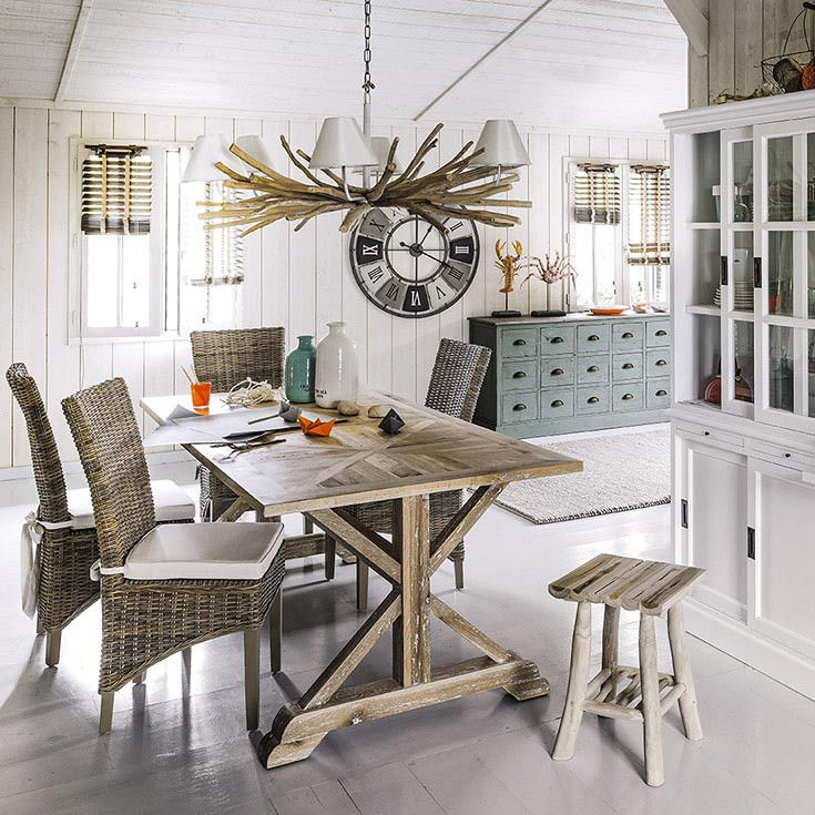 35 best Bord de mer images on Pinterest | Dining rooms, Interiors ...