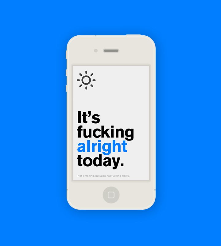 Authentic Weather app - Finally in the App Store #mobile #iphone #app