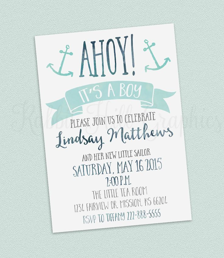 199 best party baby shower images on Pinterest A letter, Baby - baby shower invitation letter