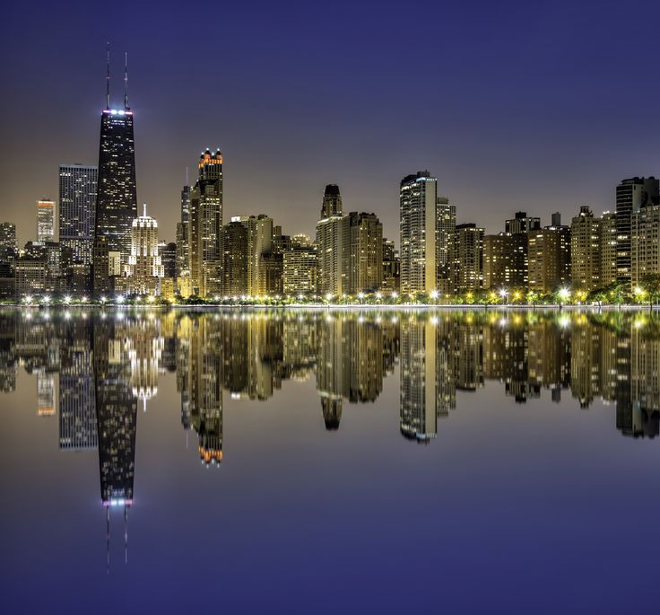 Chicago...My 2 favorite shows of all time were filmed here, only fitting that I should visit one day.
