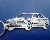 BMW 525 Personalized Key chain, Car Keychain, Keychain for BMW, Custom Keychain, Stainless Steel Keyring, Original Personalized Gift