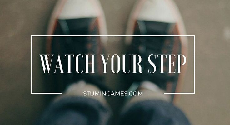 Watch Your Step will get your group going & having fun! #groupgames #youthministry #youthgroup #teamgames http://wp.me/p4EnqC-AT