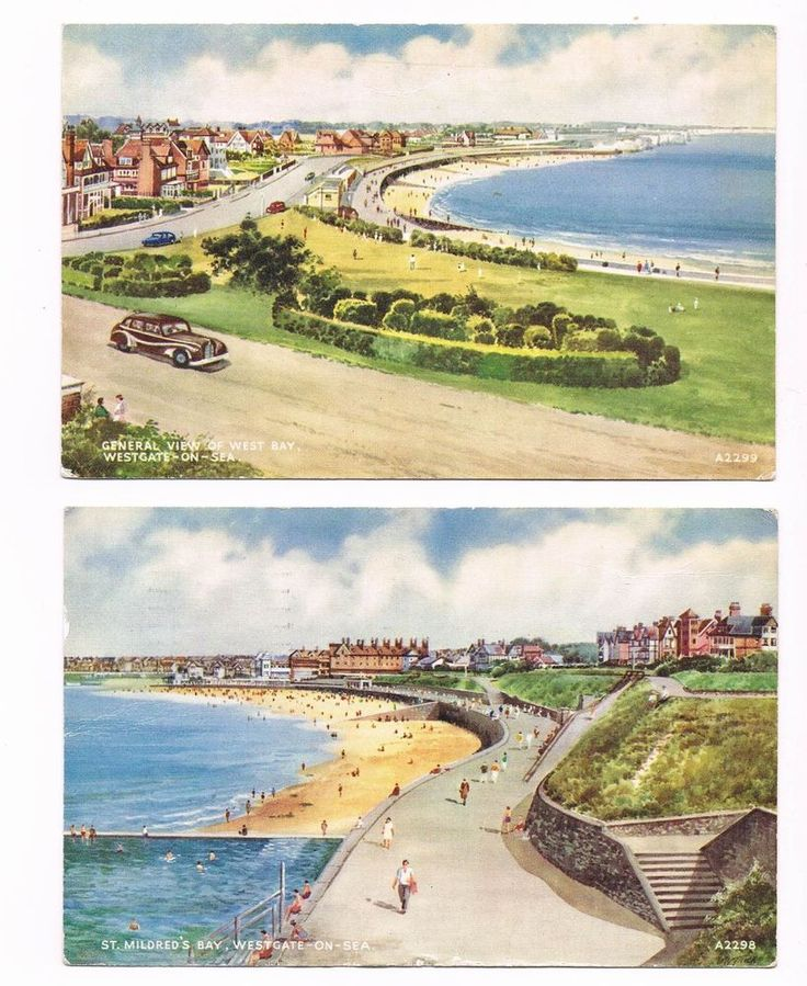 Postcard - Westgate-on-Sea, Kent - Two views - 1950s in Collectables, Postcards, Topographical: British | eBay