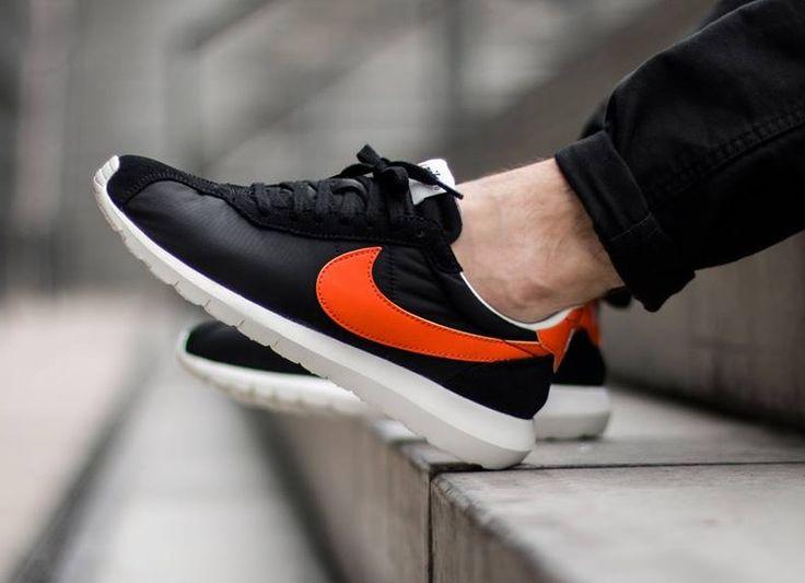 Nike Roshe LD-1000: Black/Orange | Sneakers: Nike Roshe LD-1000 | Pinterest  | Nike roshe