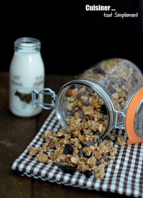 Granola maison  - Cuisiner... tout Simplement, Le Blog de cuisine de Nathalie