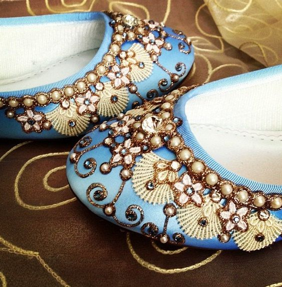 Hey, I found this really awesome Etsy listing at http://www.etsy.com/listing/125550778/mermaids-slipper-bridal-ballet-flats