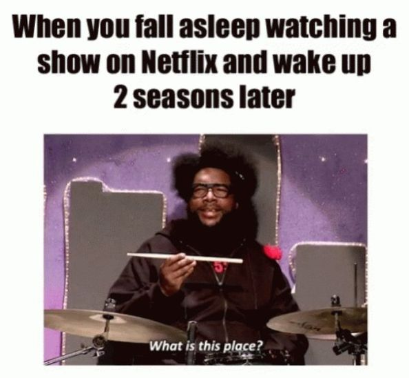 Netflix sleep mode