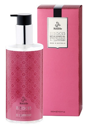 Bath & Shower Gel - Hibiscus & Cranberry – Orange Sherbet eBoutique