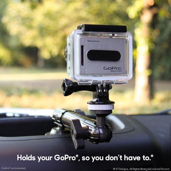 (CF) Carbon Fiber Series - Jeep® JK Mount for GoPro®