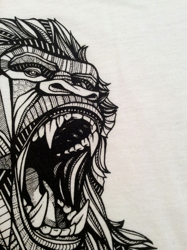 Image of Gorilla Tee in White