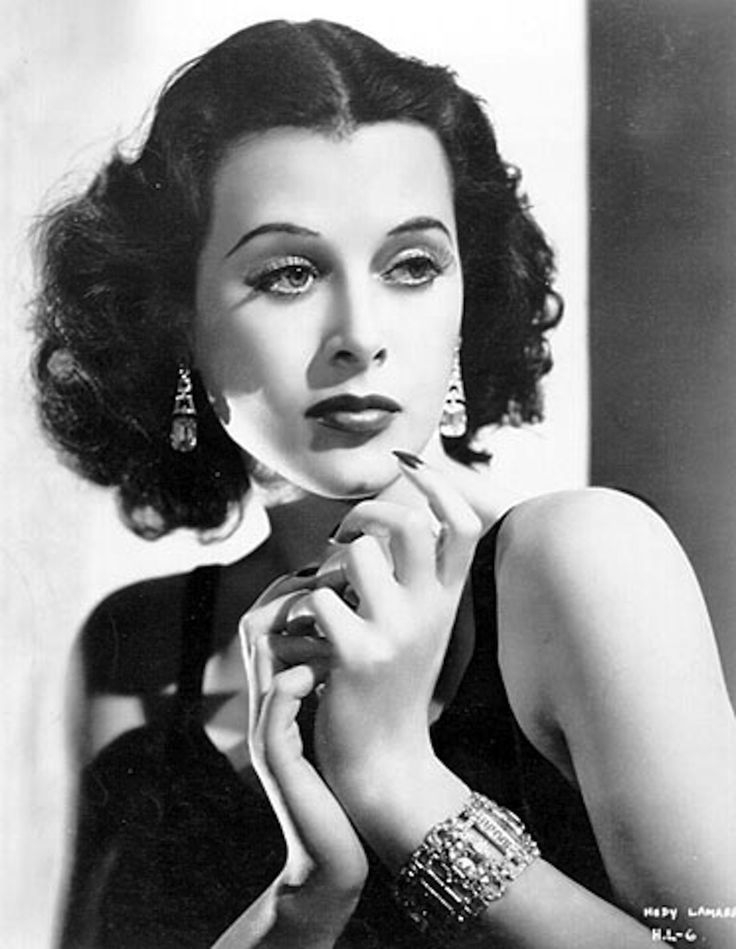 Hedy Lamarr - 1930s Hollywood actress, whose invention of spread-spectrum radio laid the groundwork for wifi, bluetooth, etc.
