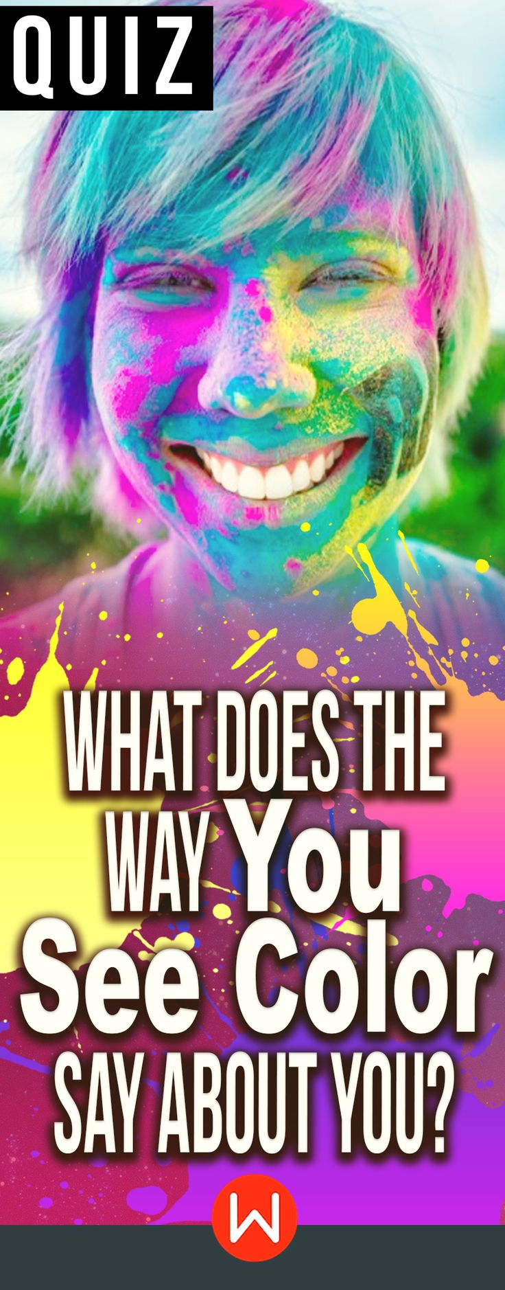 Quiz: What color do you see? The way you see colors say a lot about you. Personality test, buzzfeed quizzes, playbuzz quiz, personality quiz, about yourself quiz, fun test, color spectrum quiz, girl quiz.