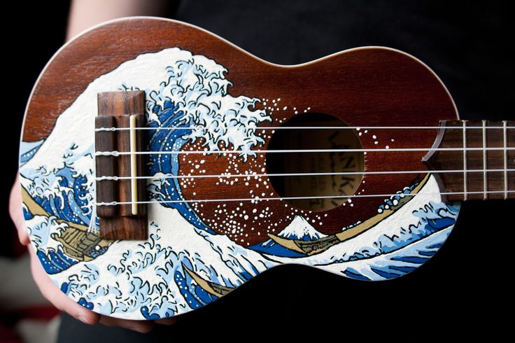 The Great Ukulele off Kanagawa by eldi13.deviantart.com on @deviantART