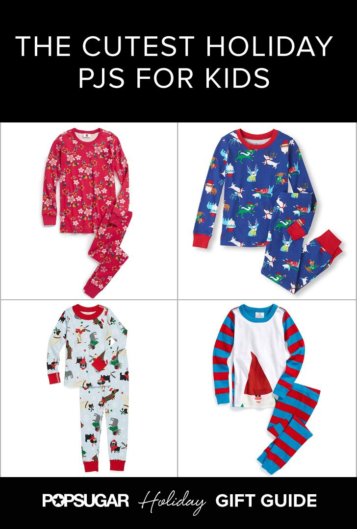 While the excitement of the season may make it tough for little ones to get their zzz's, you can at least make sure they look adorable while trying!