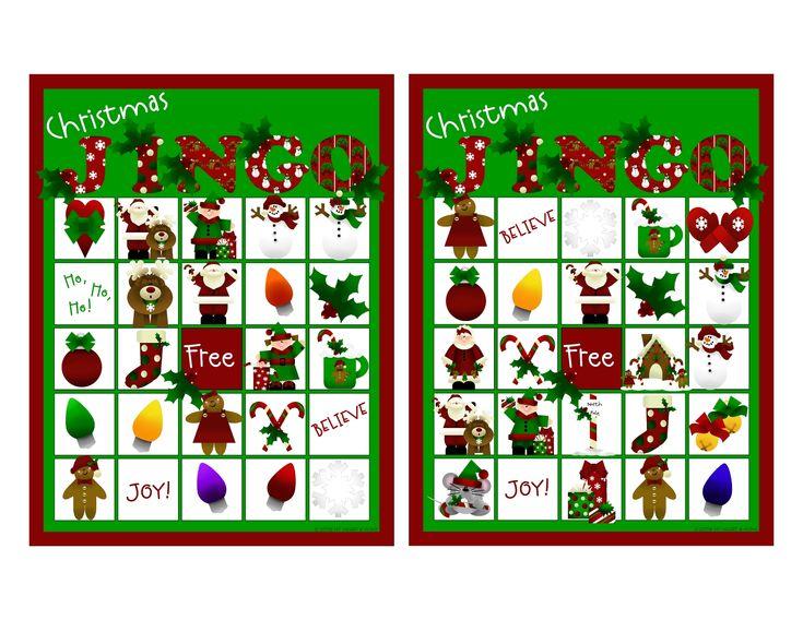 The 25+ best Christmas bingo cards ideas on Pinterest | Christmas ...