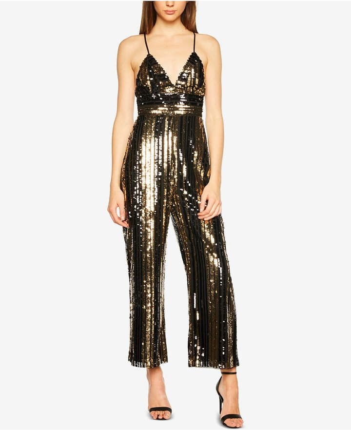 16909fa922d3 Sequined Jumpsuit in 2019