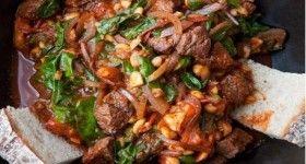 Ethiopian-Style Beef Stir Fry